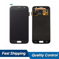 Barato Substituição Do Lcd Do Telefone Móvel-Original Lcd para Samsung S7 SM-G930A G9300 Lcd Montagem de tela Display Touch Digitizer Replacement Mobile Phone