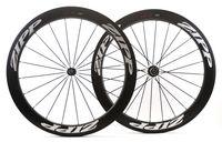 Wholesale Carbon Bikes Rims - Golf surface wheels carbon wheels with 58mm depth 25mm width rims,full carbon fiber Dimple surface 404 wheels with NOVATEC 291 482 Hub