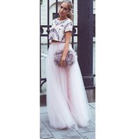 Wholesale Baby Ballerina Skirt - Baby Light Pink Tulle Elastic high quality Waist Maxi Floor Length A Line good quality Ballerina Skirt stylish beautiful women skirt