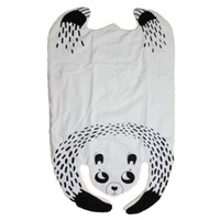 Vente en gros- Hot Sale Lovely Baby Quilted Play Mats Cartoon Panda Animaux Crawling Blanket Padded Racing Games Tapis Tapis pour Enfants