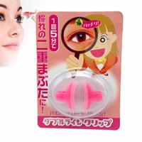 Wholesale Eyelid Glasses - Wholesale- New Double Eyelid Trainer Beauty and Healthy Double Eyelid Artifact Glasses beauty big eyes make up tools A2