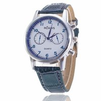 Wholesale United States Business - Europe and the United States han Fashion Popular fashion sports watches Business casual eye six men's watch Men's leather table