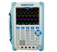 Wholesale Handheld Digital Multimeter Oscilloscope - 2016 Hantek DSO1062B Portable Handheld Digital Oscilloscope With 5.6 Inch TFT Color LCD Display Multimeter High Band Width 60MHz 1Gsa S
