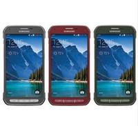 telefones celulares de 5,1 polegadas venda por atacado-Samsung Galaxy S5 Ativo G870 Original não-convertido Quad Core 2 GB de RAM 16 GB ROM 16.0MP 5.1