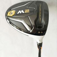Wholesale Driver Golf - Hot sale Mens Golf clubs M2 driver clubs 9.5 10.5 loft R or S flex Golf driver Free shipping