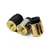 Wholesale E Step - Vape ICON RDA Clone Atomizer 24mm E Cigarettes Two-post with Four Terminals in Stepped Orientation and Innovative Hedged Airflow DHL free