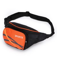 Wholesale Travel Pouch Waist For Men - Wholesale-FEEL PIONEER Belt Bags Outdoor Waist Packs Bags Unisex Sport Fitness Running Waistband For Accessory Small Travel Bags Pouch