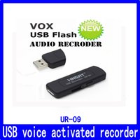 16gb sata toptan satış-Wholesale-16GB En çok satan Ses aktive USB kaydedici, şarj edilebilir dijital ses kaydedici sürekli 15 saat çalışabilir