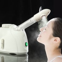Wholesale Steam Ozone - Steam ozone Facial Steamer Face Sprayer Vaporizer Beauty Salon Spa Skin Detox Whitening Moisturizing Exfoliating Care Machine