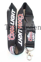 Wholesale free delivery logo - Wholesale sale of the latest 10Pcs Drink Logo Style Mobile Phone Necklace Strap Lanyards ID Card Hold free delivery B41