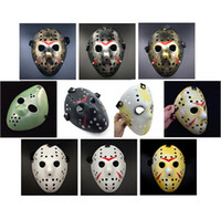 Wholesale Gold Vintage Party Masks Delicated Jason Voorhees Freddy Hockey Festival Halloween Masquerade Mask