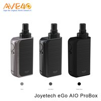 Wholesale Ego Boxed Starter Kits - Joyetech eGo Aio Pro Box Kit VS Joyetech eGrip II Light Starter Kits 2100mAh