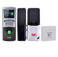 controle de acesso do teclado venda por atacado-Bio Fingerprinter Rfid Teclado Bloqueio Elétrico Sem Fio Fácil de Instalar Access Control Time Attendance Kit