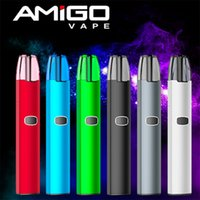Wholesale Black One Charges - Original Amigo Itsuwa One Piece 2 Portable Pod Starter Kits 420mah Battery with 2.5ml Pods Kit 1A Quick Charge vs JUUL V2.0 100% Authentic