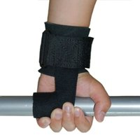 Wholesale Power Gym Bar - Wholesale- Gym Power Training Weight Lifting Straps Wraps Hand Bar Wrist Support Equipment