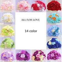 Wholesale Display 14 Led - New arrival Road led flower Wedding flowers road lead wedding centerpiece home decoration 14 color
