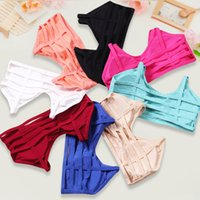 Wholesale Hot Tube Bra - Sexy Backless Base Vest Cotton Spandex Hollow Out Women's Bustier Bra Crop Top Tank Beach Hot bralette Tube Tops