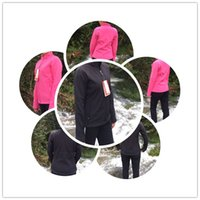 Wholesale Womens Waterproof Jacket Fashion - High Quality Winter Womens SoftShell Jackets Fashion Brand Casual Fleece Ski Warm Coats Outdoor Windproof Suits Size S-XXL