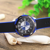 Wholesale Wholesale Plate Glass Prices - Free Shipping!Silicone band,silver plate round case,quartz movement,Womage fashion man quartz silicone watches,A-365 promotion price!