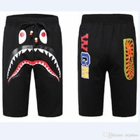 Wholesale Hip Hop Zip Pants - Summer New Style Outdoor Hip-hop Short Pants Sell Like Men's Shark Head Luminous Camouflage Loves Trousers Flight Zip Beach Leisure Pan