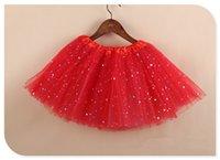 ingrosso tutu viola per bambini-FASHION BAMBINI Summer Style Girl Skirt Bambino Bambini Tutu gonna breve trasporto libero 8 colori