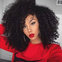 Wholesale Cheap Afros Wholesale - Brazilian Human hair 8A Brazilian virgin Human Hair Cheap 3 Bundles Afro Kinky Curl Hair For Sale Factory Price Free Shipping