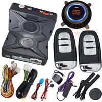Wholesale Window Locks Alarms - automotive car keyless entry engine start stop system with car alarm anti theft function auto window up after lock action