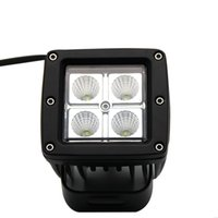 Venda por atacado Comercial Electric Led Work Light Cree Chip 6500K IP67 Spot Flood Beam Luz LED 12V 24V para Off Road 4X4 Tractor Truck