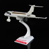 Wholesale Toy Red Jet Plane - Promotional gifts back model plane materials LOGO custom promotional giveaways A380 passenger plane model
