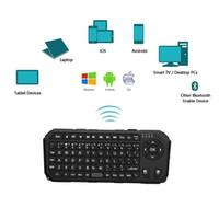 Wholesale Standard Keyboard Computer - Wireless Bluetooth Keyboard Ultra Slim for Android Windows PC Tablet Smartphone computer standard English version keyboard