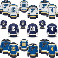 Wholesale Nails Boy - Youth Kids St. Louis Blues Jersey 64 Nail Yakupov 74 TJ Oshie 75 Ryan Reaves 91 Vladimir Tarasenko Personalized Customized Hockey Jerseys