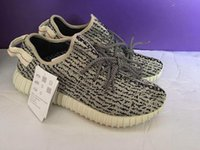 Wholesale Cheap Brown Bags - 2017 Hot Sale Kanye West shoes 350 boost Pirate Black discount cheap 350 boots men shoes Moonrock Oxford Tan Keychain+Socks+Bag+Receipt