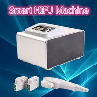 Wholesale Facial Materials - High Quality smart HIFU Wrinkle Removal Anti-aging Skin Care Hifu Focus Ultrasonic Facial Beauty Machine Aluminum metal Material