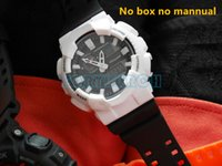 Wholesale Men Wholsale - New arrival AAA relogio GAX-100 no box no mannuel men's sports watches,popular men watch LED all pointers work 3ATM water resistant wholsale