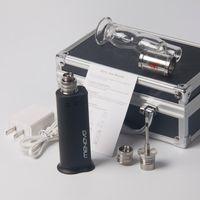 Wholesale Digital E Cigarette - Online shopping menovo e cigarette portable electronic nail wax vaporizer smoking device 0.5ohm titanium atomizer digital electric dab nail