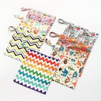 Wholesale Waterproof Tote Bag Pattern - Printing pattern waterproof diapers bag baby double zipper double diapers bag portable bag wholesale free shipping high quality