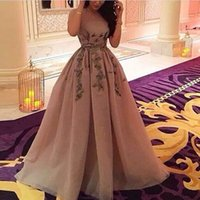 Wholesale blush short strapless party dress resale online - New Arrival Strapless Puffy Blush Prom Dresses Amazing Design Long Formal Party Dress Summer Lady Fashion Evening Gowns Custom Made