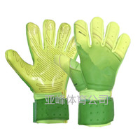 Wholesale black leather gauntlet gloves resale online - 201 Newest SGT NK Logo Negative Cut Goalkeeper Gloves Top Latex Soccer Football Gloves latex Plam Goal Keeper Gloves Luvas de goleiro