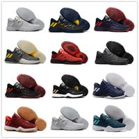 Wholesale Stretching Balls - 2017 New Arrival James Harden 2 Vol.2 Men's Basketball Shoes Wolf Grey Sports Basket Ball Sneakers Training Boost Size 7-12 With Box