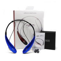 Wholesale Handsfree For Blackberry - For HBS800 Bluetooth Headphone Wireless Earphone sport bluetooth 3.0 Headset Handsfree in-ear headphones For Samsung S8 Note 8