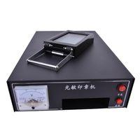 tintenkissen für briefmarken großhandel-Großhandel-220 V HT-A600 lichtempfindliche Porträt-Flash-Stempel-Maschine Auto-Inking Kit Stamping Making Seal Unterstützung Film Pad (OHNE Tinte)