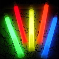 Wholesale Glow Stick Products - 15cm*2cm Light Sticks 6 inches Chemical Glow Stick Light Stick Glowing Stick Flash Festival Products 7 Colors Mixed Outdoor Adventure Party