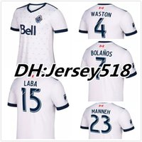Wholesale Canada Soccer - Best quality 2017 2018 Vancouver Whitecaps jerseys 17 18 Canada Whitecaps soccer jerseys WASTON football shirt