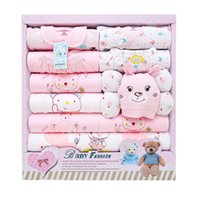 Organic Cotton organic cotton infants - 2016 New Spring Autumn winter Newborn baby gift sets infant baby boy girl clothes package cutton High Quality