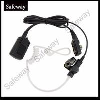 Wholesale Earphones Fbi - High FBI waterproof IP54 quality two way radio earphone acoustic tube earpiece headset for Hytera PD700 PD780 PD580 HYT walkie talkie