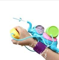 ingrosso pistola animale-Pistole ad acqua dell'elefante Bambini che bagnano il giocattolo interattivo creativo Bambini Divertimento all'aria aperta Animali Patten Giocattoli di plastica dell'acqua Giocattoli Gun YH1006