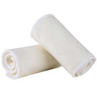 Wholesale Microfibre Diapers - 4 Layers Bamboo Microfibre Inserts For Baby Cloth Diaper Reusable Washable Inserts Liners for Pocket Cloth Nappy Wholesale