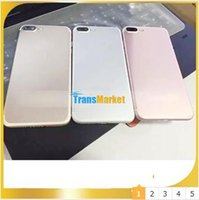Wholesale Stockings Hearts Wholesale - Goophone i7 plus cell phones 5.5 inch MTK6580 Quad Core 512M 8G show 4g lte Show 1G 64G 800 camera android Smartphone Metal Body In stock