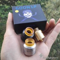 Wholesale E Cig Bulk - Goon Lp RDA by 528 Customs Goon Lp RDA Bulk in Stock Rebuildable Dripping Atomizer Best E Cig Vaporizer