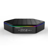schnellste android-tv-box großhandel-Schnellste T95Z PLUS Amlogic S912 Octa Core Android 7.1 TV Box 2 GB 16 GB Dual Band WiFi BT T95Z PLUS TV BOX